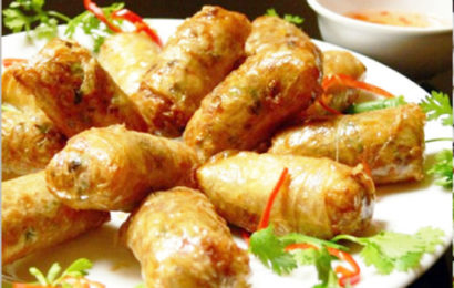 How to cook a traditional food of Vietnamese food – Fried spring roll
