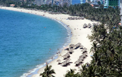 My Khe Beach in Da Nang, one of ten Asia's best beach