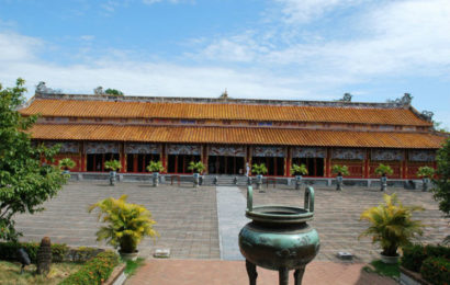The Mieu (or The To Temple) the Buddhist temples in Hue