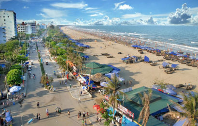 Sam Son beach in Thanh Hoa, one of the best beach in Vietnam