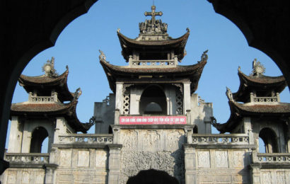 Phat Diem cathedral – unique architecture stone in Ninh Binh