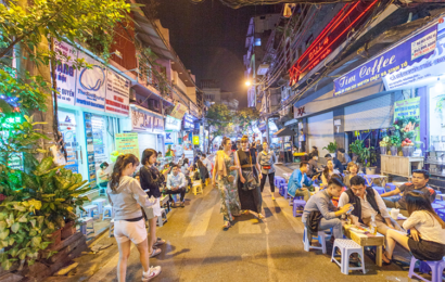 Hang Buom Cuisine Street inaugurated in the Old Quarter – Ha Noi