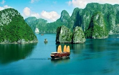 A Ha Long Bay's photo was chosen best summer scenes among this year's
