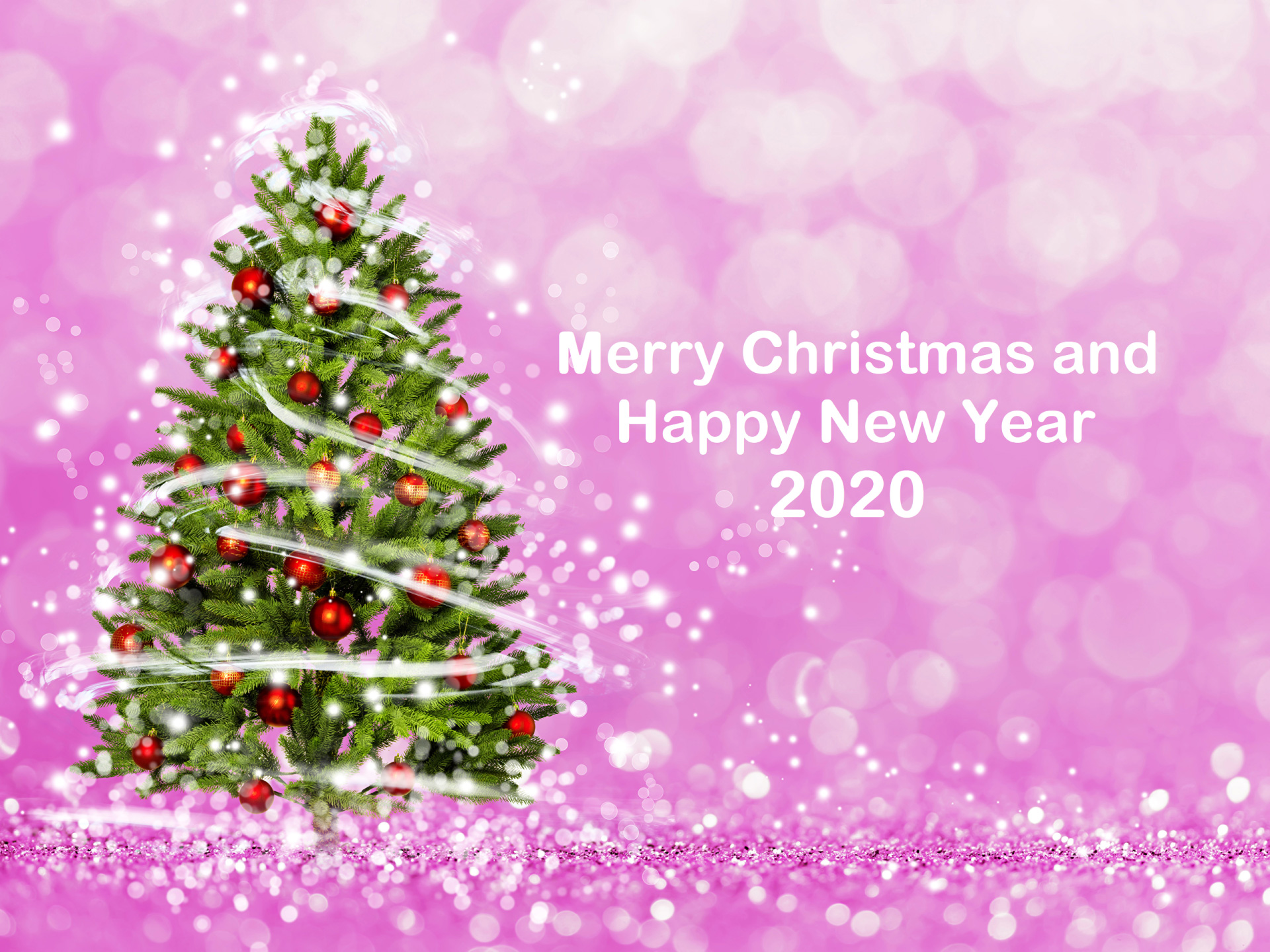 Photo Merry Christmas and Happy New Year 2020 number 1