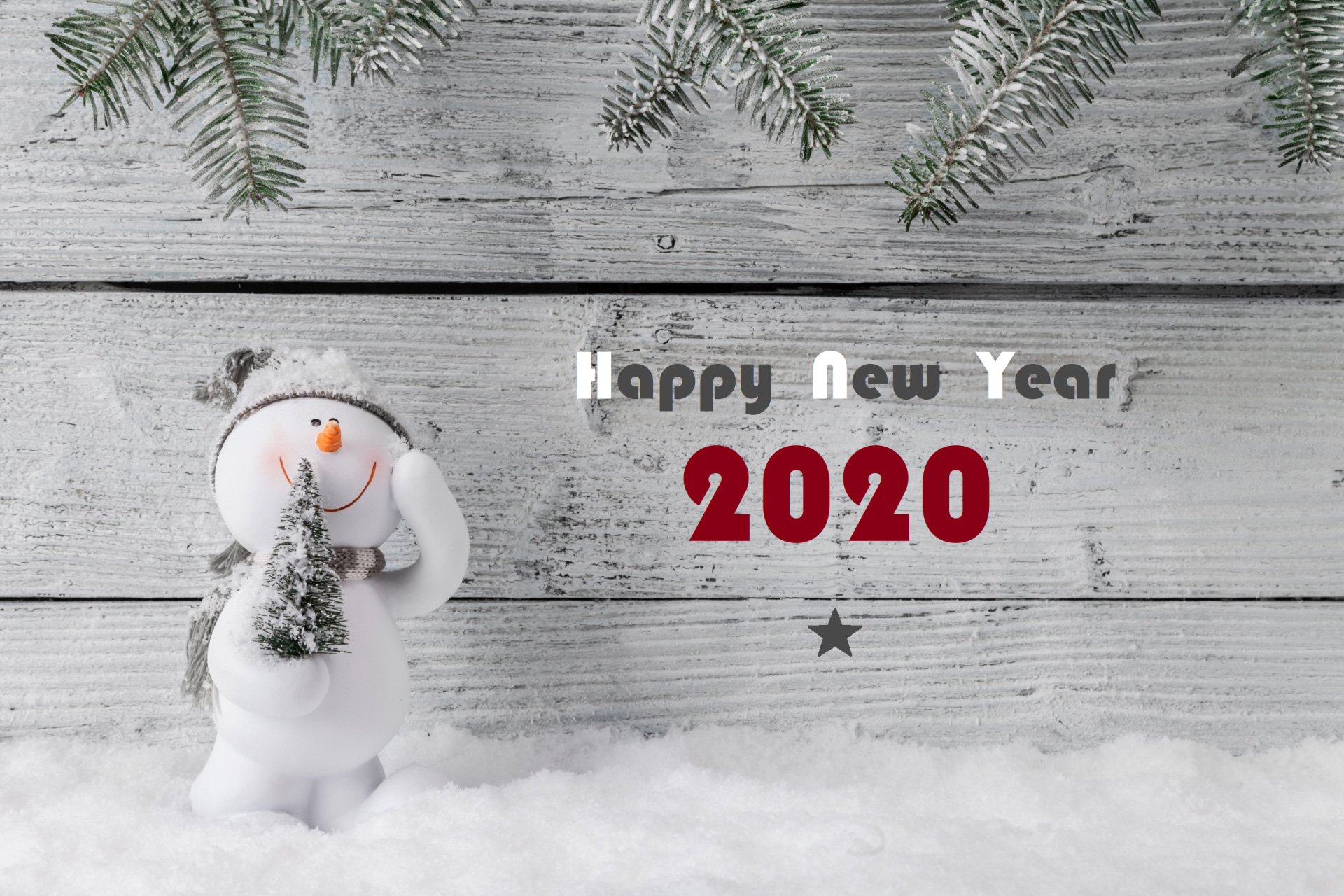 Photo Merry Christmas and Happy New Year 2020 number 5