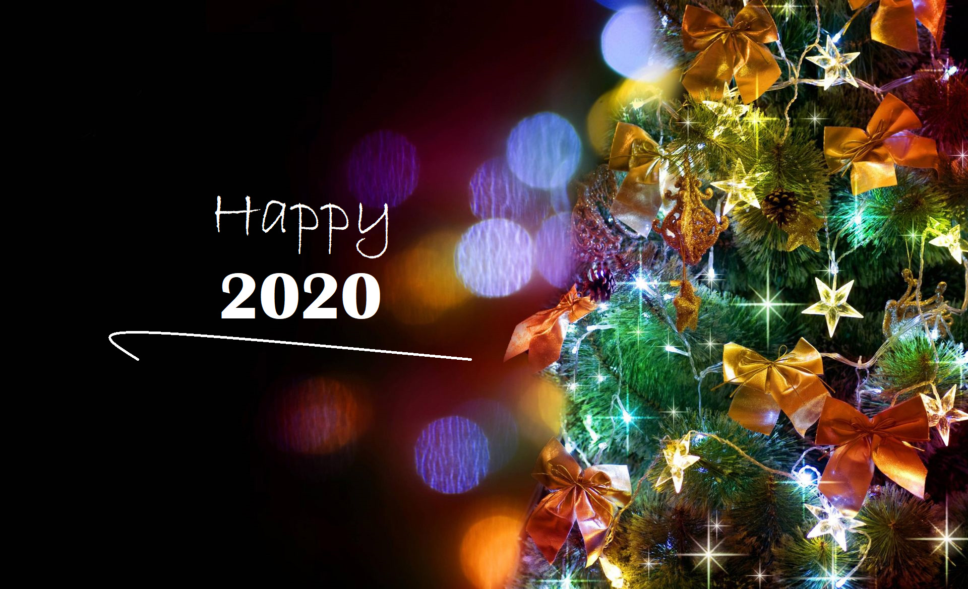 Image Happy New Year 2020 is beautiful number 29