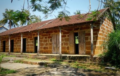 Many villages where dozens of laterite houses can be found in Quang Ngai
