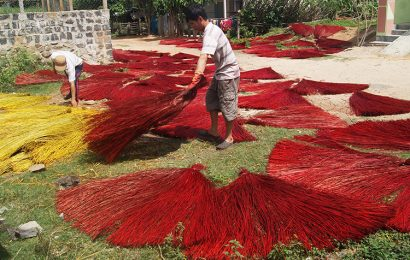 Ban Thach Village in Quang Nam famous for traditional craft of making mat
