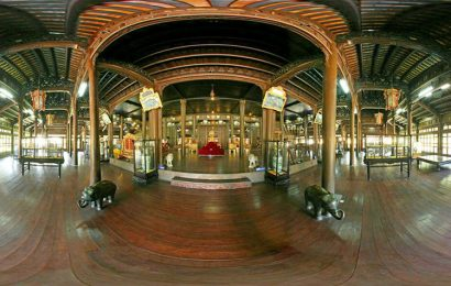 Hue Museum of Royal Antiquities display artifacts of Emperor Gia Long