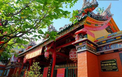 On Lang Pagoda in Saigon now dedicated to Chinese Sea Goddess Mazu