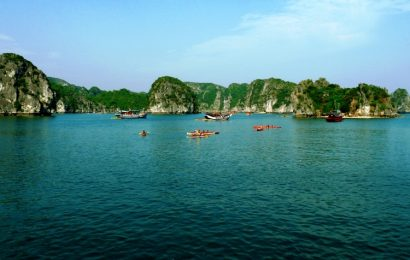 "Actor Leonardo DiCaprio says Vietnam's Lan Ha Bay is a ""paradise"""