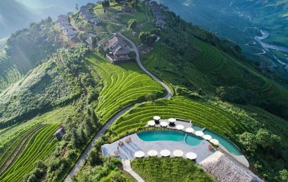 Vietnam's pools allow you to be a seamless part of your surroundings