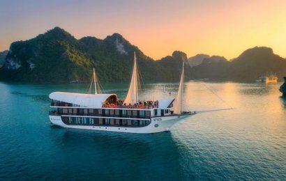 Cruise on Ha Long Bay, Quang Ninh, Vietnam to regain its bustle