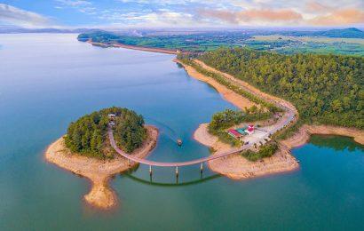 Ke Go Reservoir in the north-central province of Ha Tinh