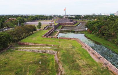 Many Nguyen Dynasty relics have reappeared in the Hue Citadel