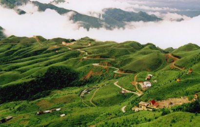 The grasslands of Huu Lien Commune in Lang Son is a sight for sore eyes