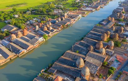 A village in Vinh Long Province, boasting over a thousand historic kilns