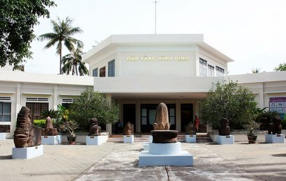 Binh Dinh museum is home to a collection of Vietnam's drama tuong
