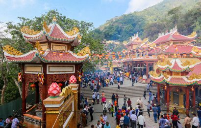 Popular pilgrimage destinations in the southern province of Tay Ninh