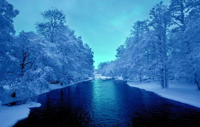 Top 50 nature wallpapers with romantic winter landscape